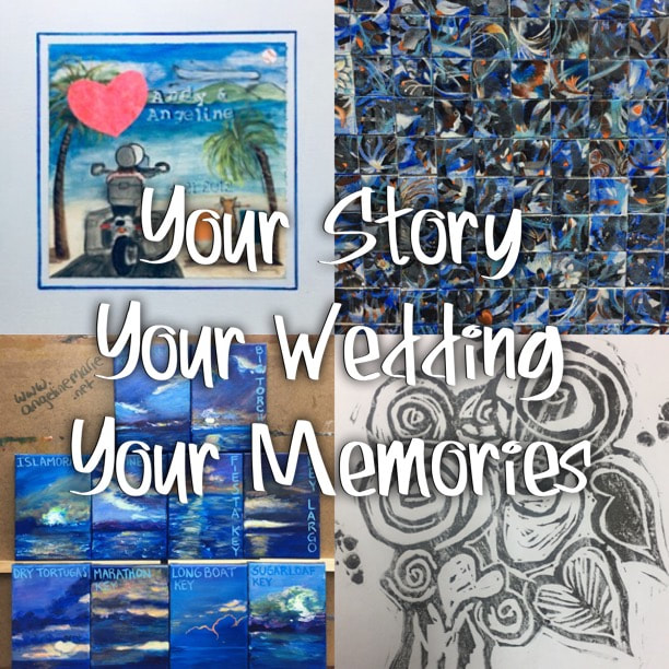 Your Story, Your Wedding, Your Memories: How an Artist can help make your wedding all about you