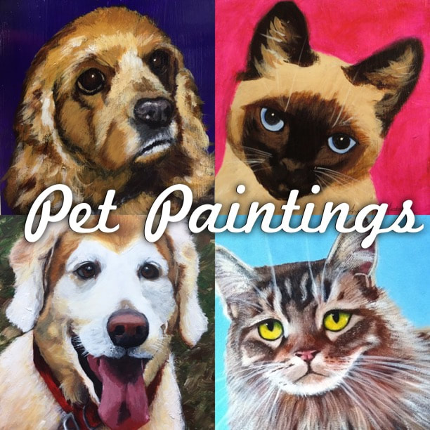 Pet Paintings by Angeline